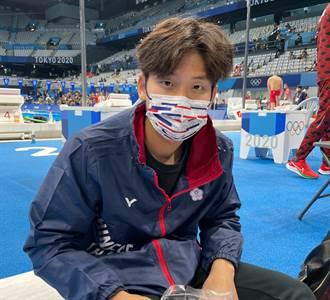東奧》破全國紀錄「台灣蝶王」王冠閎預賽分組第一 挺進準決賽