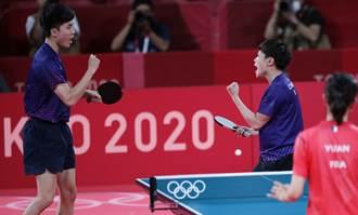 東奧》桌球混雙銅牌戰 林昀儒、鄭怡靜直落四勝出