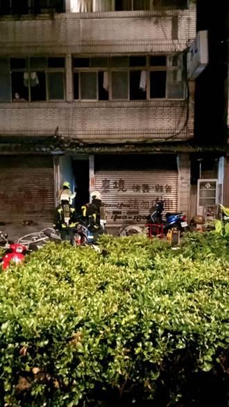 北市大同民樂街火警 警消出動17車灌救 3住戶送醫檢查