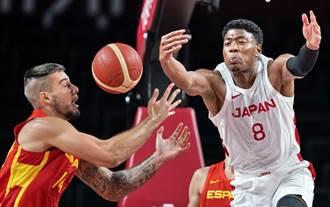 東奧》兩大NBA球員助陣 日本男籃小輸西班牙11分