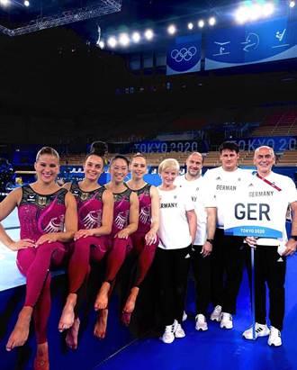 東奧》對抗「性化」做自己 德國女子體操隊長褲上陣