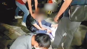 毒販拒捕撞車 警開2槍浴血逮人