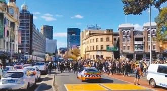 歐洲、澳洲反防疫示威 爆警民衝突
