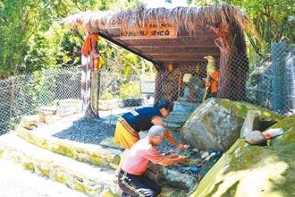 找回祭天文化 牡丹四林格部落自建祭壇
