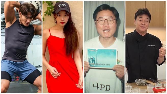金鍾國(左起)、IU、羅PD、白老師進軍YouTube界相當成功。(摘自IG)