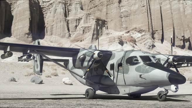 MC-145B是把小型運輸機C-145給武裝化,可發射武器,也有更多感應設備。(圖/USSOCOM)