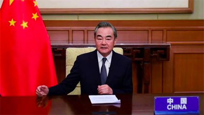 圖為中國外交部長王毅。(中國外交部資料照)
