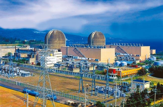 圖為核三廠。(台電提供)