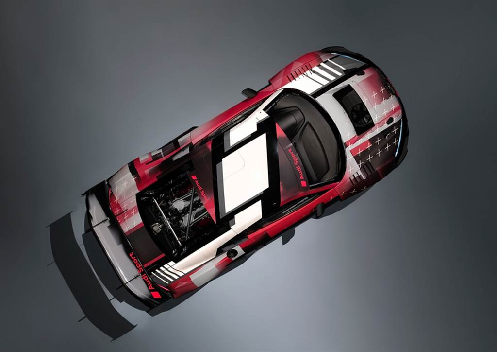 Audi R8 LMS GT3賽車二次進化