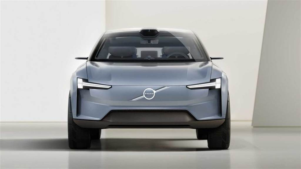 此為 Volvo 先前公布的電動概念車:Concept Recharge。