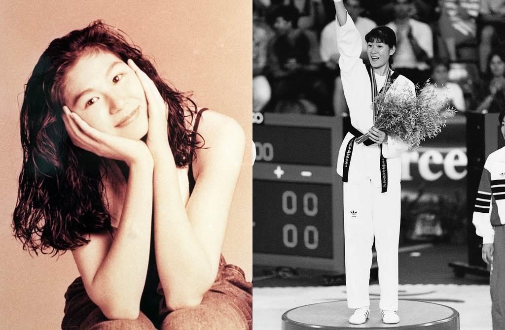 陳怡安早年是跆拳界的漂亮寶貝。(圖/中時資料照片)