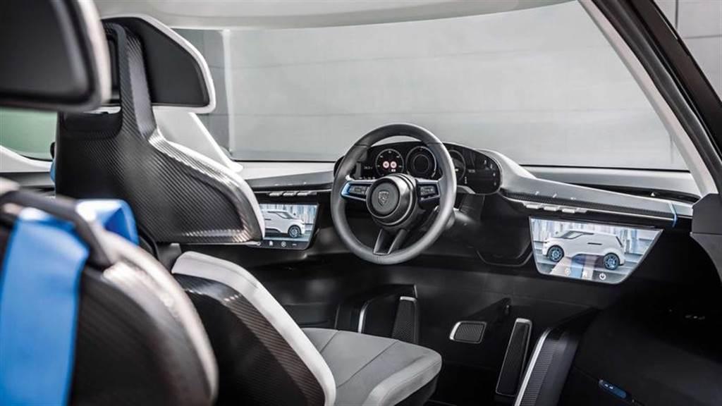 保時捷出六座電動 MPV!全新 Vision Renndienst 概念車內部細節大公開