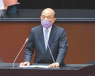 不滿蘇內閣表現 2年7個月以來首度逼近5成