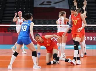 東奧》再被橫掃 中國女排不敵美國女排 遭遇2連敗
