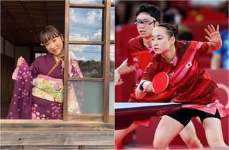 日本新桌球女神私服照噴仙氣「國民女兒」福原愛地位慘被夾殺