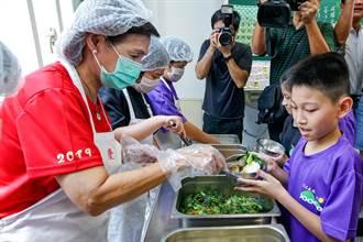 為營養午餐加值 宜蘭縣獲5800萬元補助