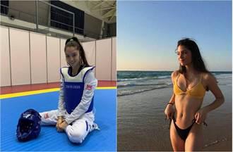 19歲以色列跆拳道女將正翻 比基尼照曝光網看到震驚一幕