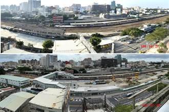 台南鐵路地下化總工程進度過半 目標2024年完工