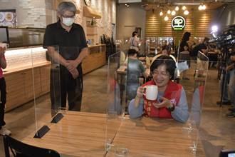 降級後餐館有條件開放內用 彰化縣餐飲業嚴加管制