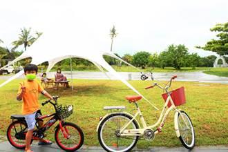大鵬灣可以租借單車了 業者進駐鵬村溼地把遊客留下來