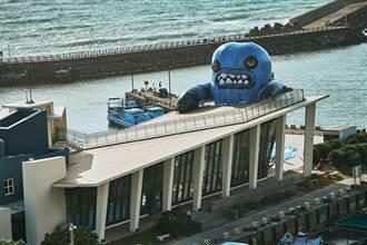 外星怪獸入侵恆春半島?! 400公斤春江獸佔據看海美術館