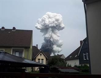 德國化工廠爆炸已知1死16傷 警方呼籲居民關閉門窗