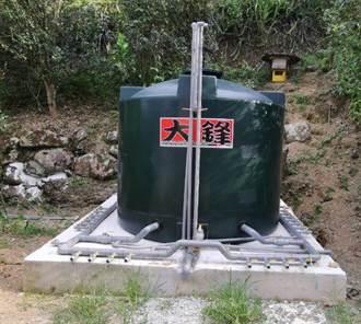 新北石碇區小格頭段塗潭小段簡易自來水工程完工 提供更穩定供水