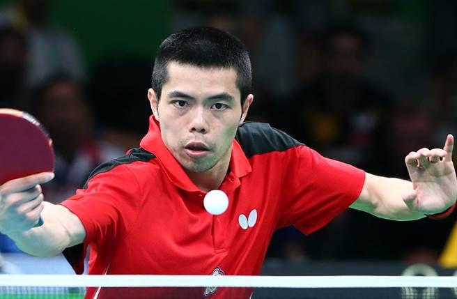 台灣「桌球教父」莊智淵26日擊敗對手,在本屆奧運殺進16強。(圖/中時資料照)
