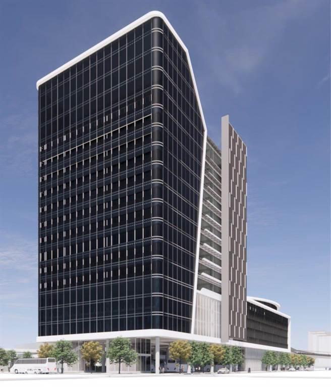 劍南路站TOD大樓預計2023年施工、2027年完工,提供商場、辦公等用途。(台北捷運公司提供/黃婉婷台北傳真)