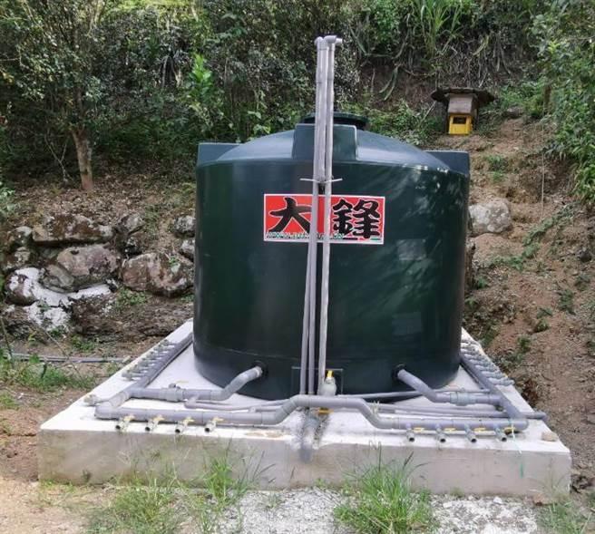 新北市政府水利局補助石碇區公所約110萬元經費進行相關簡易自來水的改善工程。(水利局提供)
