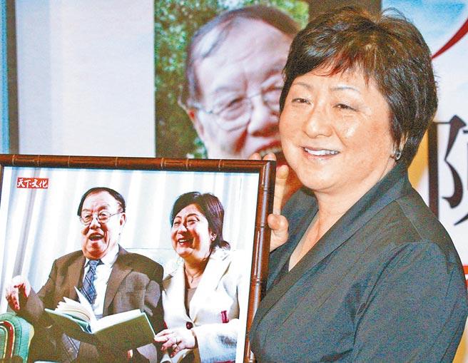 陳之藩與童元方曾在香港度過最後的快樂時光。(本報資料照片)