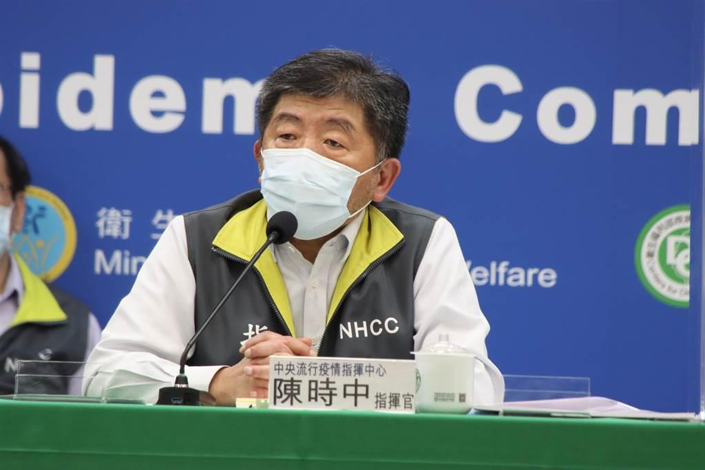 中央流行疫情指揮中心指揮官陳時中指出,一直有在考慮放寬返台防疫措施,但考慮到Delta病毒,邊境防疫仍不可大意。(圖/指揮中心提供)