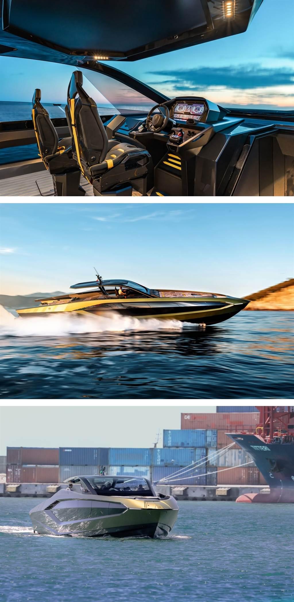 第一艘Tecnomar for Lamborghini 63機動遊艇交付