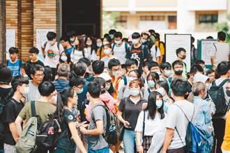 大學指考今登場 防疫史上最嚴「每間試場20人」