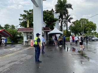 「末代指考」今登場 台南白河警疏導學校周邊交通