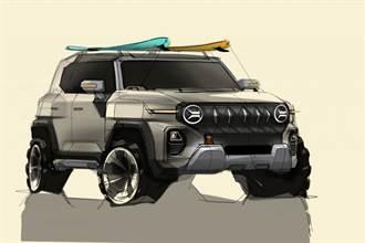 霸氣!預覽SsangYong下一代SUV的設計