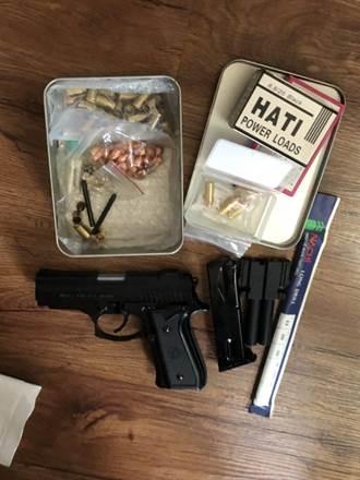 屏東鐵工自學改造手槍 高屏溪試槍遭逮