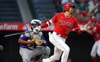 MLB》大谷翔平驚天36轟出爐 鎖定紅中好球一棒炸裂
