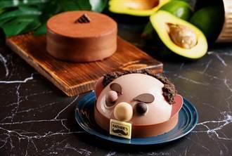 神旺飯店父親節造型蛋糕 首見「幸福果」入味