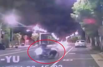馬路逆向慢跑遭機車擊落 新竹男被罵翻:乾脆上交流道跑路肩