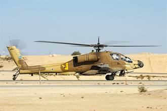以色列AH-64阿帕契中途故障 緊急迫降公路