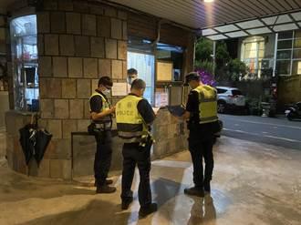 防疫情破口 蘆洲警針對汽車旅館、旅宿業規劃擴大臨檢