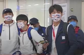 東奧柔道、跆拳道代表團返台 楊勇緯、羅嘉翎成全場焦點