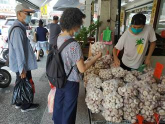 蒜頭價格平穩 天熱吃蒜開胃增加免疫力熱銷