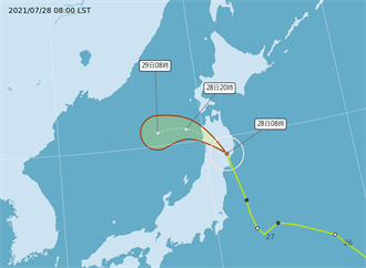 職場》湊熱鬧!尼伯特颱風登日 東奧賽程受影響