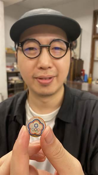 東奧中華隊進場服裝小小漆藝扣 中市承傳70多年三代工藝登國際舞台