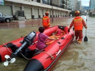 陸今年遭受水災3481萬人次 經濟損失1230億人民幣