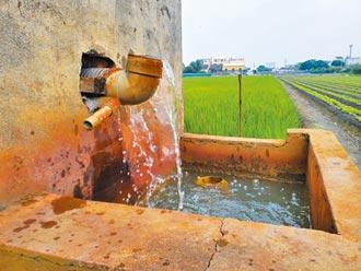 農用井抽嘸水 雲林規畫藏水於農