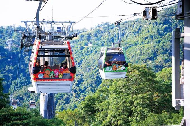 台北捷運今日宣布,貓空纜車、小巨蛋冰上樂園將從8月1日起開放。(北捷提供)