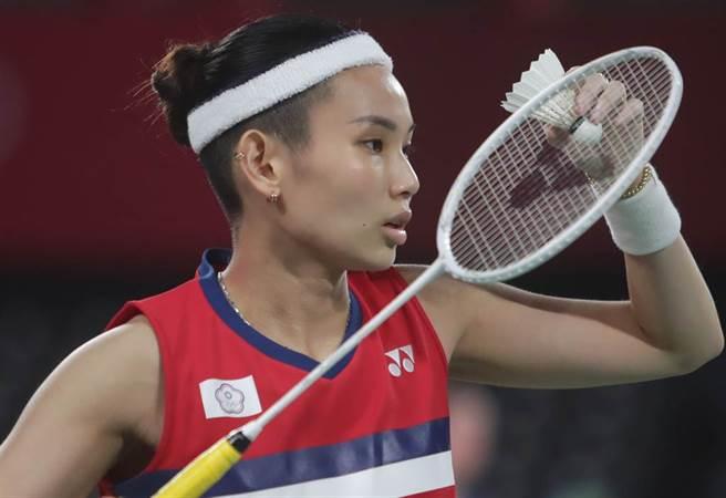 戴資穎今天要和依瑟儂拚搶東京奧運女單4強席次。(資料照/季志翔攝)